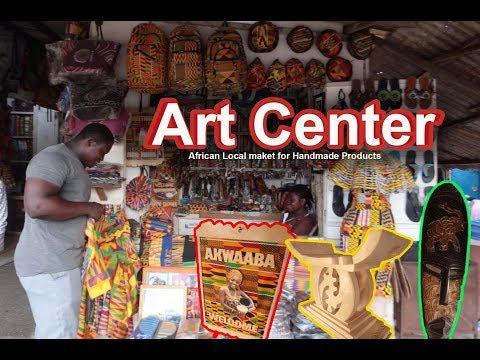 Ghana Vlog 1- Ghana Street Market Shopping
