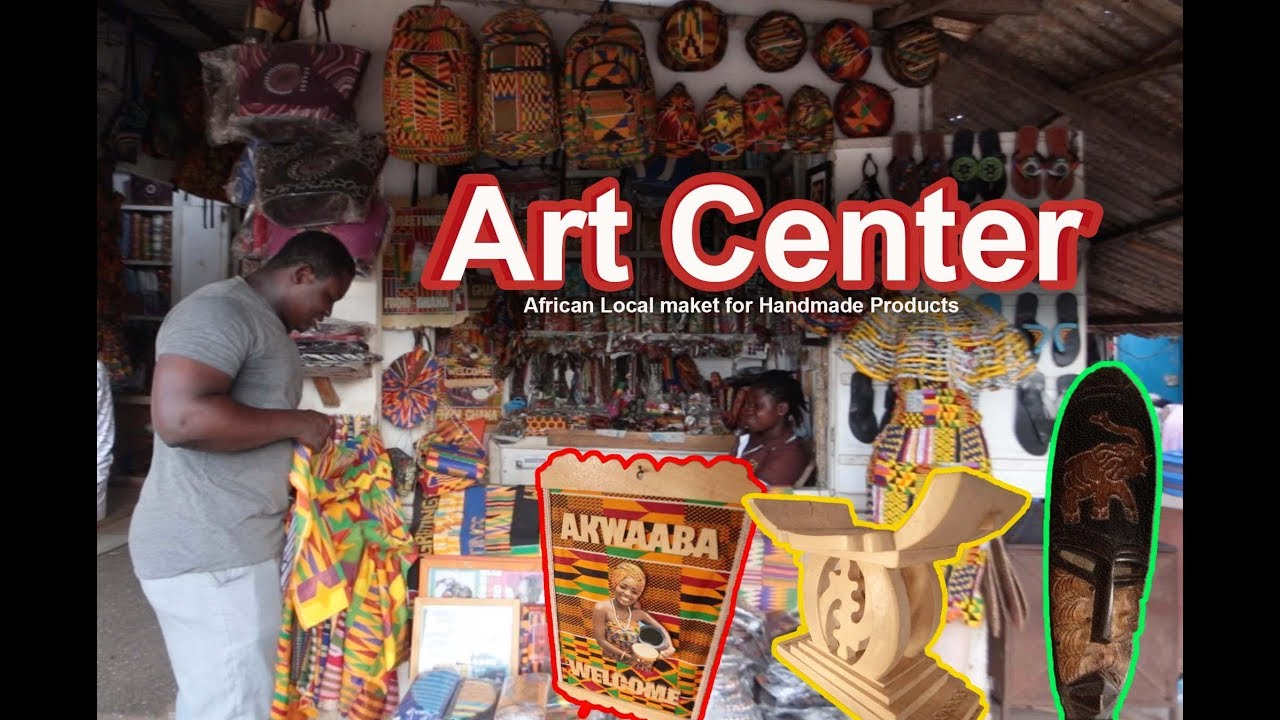 Tour at National Arts and Culture Centre Accra , Ghana - Episode 1