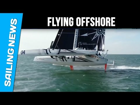 Flying offshore, a dream a reality for Gitana Team