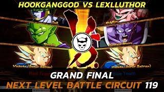 DBFZ Grand Final ▷ HookGangGod vs LexLLuther ▷ NLBC 119