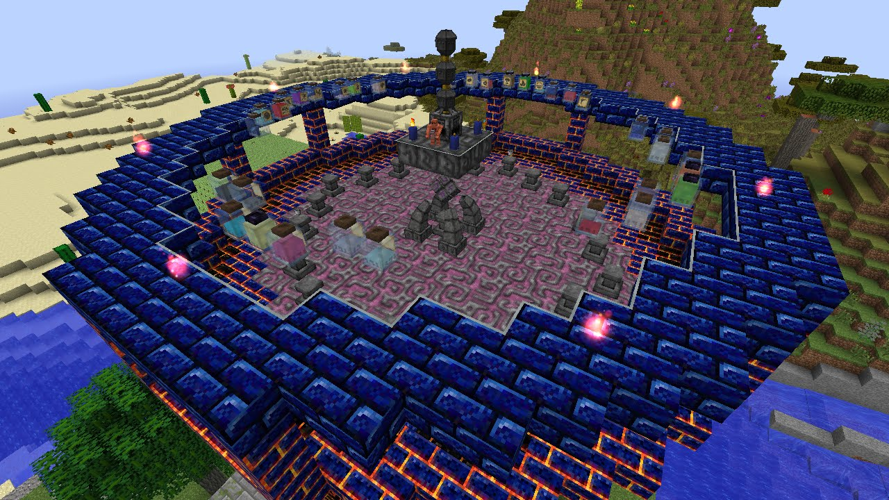 S07E51 - Playtime - Building a Stable Thaumcraft Infusion ...