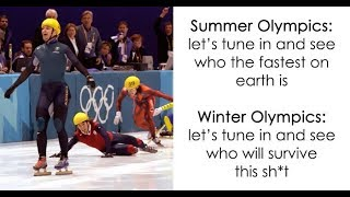 funniest reactions to the winter olympics