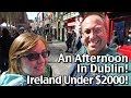 Afternoon in Dublin - Christ Church Cathedral - Celtic Nights - Ireland Vacation Under $2000!