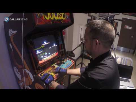 Man scores 10 million on video arcade game Joust in Frisco