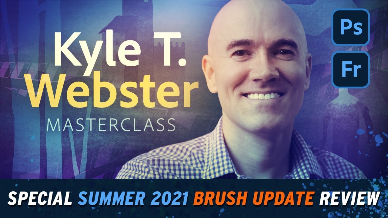 Illustration Masterclass with Kyle T. Webster - Summer 2021 Brushes