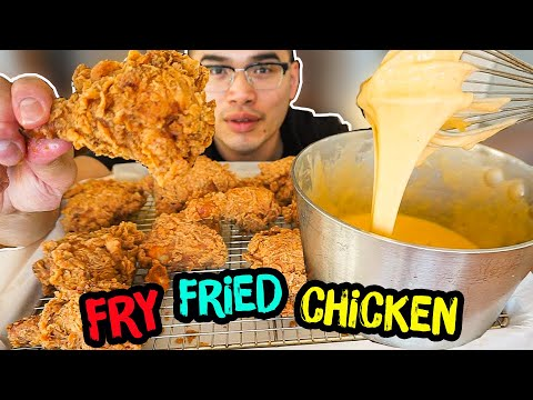 How to properly FRY FRIED CHICKEN