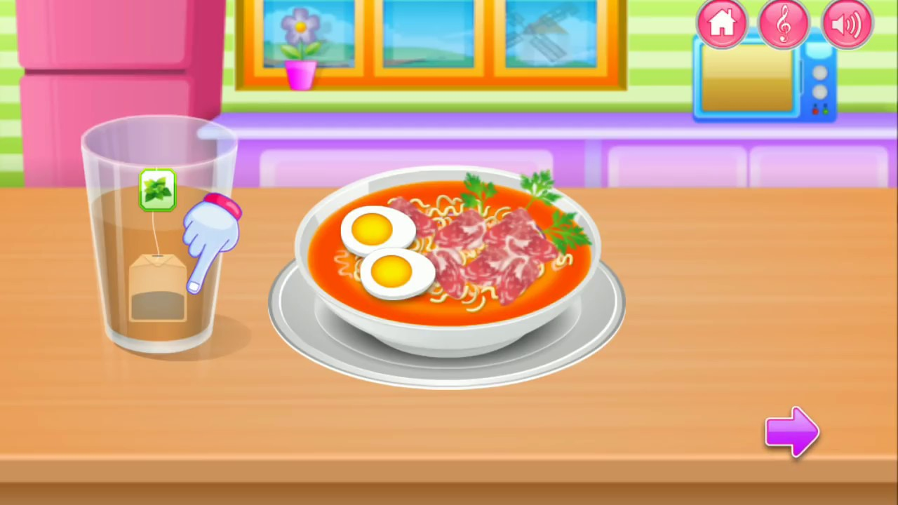 Cooking Games Android Gameplay Masak Didapur Part 1 Youtube