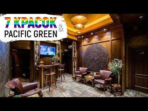"Роскошный интерьер Sky-Spa Luxury ""7 Красок"" с мебелью ""Pacific Green"""
