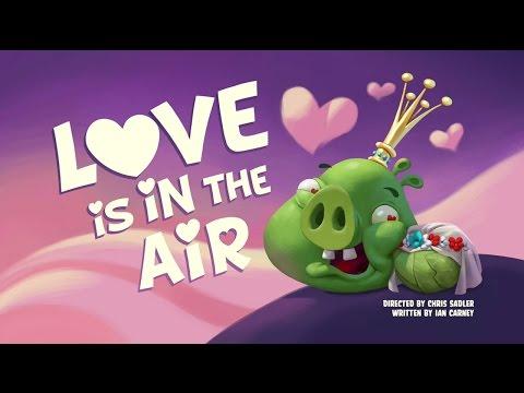 Злые птички - Энгри Бердс - Любовь в облаках (S1E35) || Angry Birds Toons