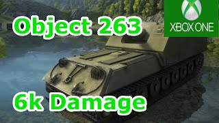 Object 263 6k Damage (World of Tanks Xbox One Beta)