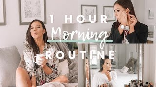 REALISTIC 1 HOUR MORNING ROUTINE FOR WORK 2018