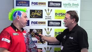 Peter Wright 2018 Melbourne Darts Masters Champion