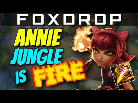 ANNIE JUNGLE IS FIRE - How to Carry #12 - League of Legends Unranked to Diamond