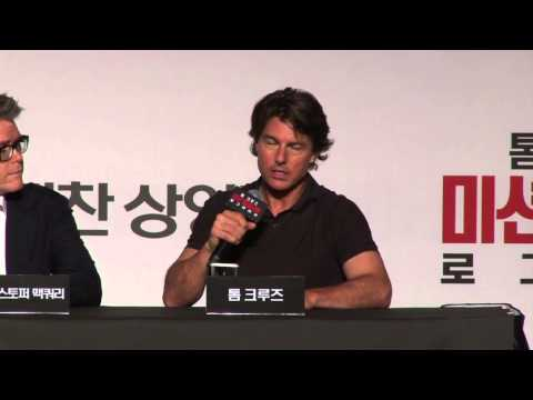 Mission: Impossible: Rogue Nation: Seoul South Korea Press Conference