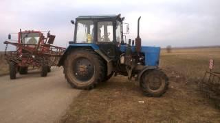 Первый день в поле  По уши в грязи