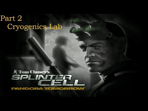 Splinter Cell: Pandora Tomorrow | Part 2 | Cryogenics Lab