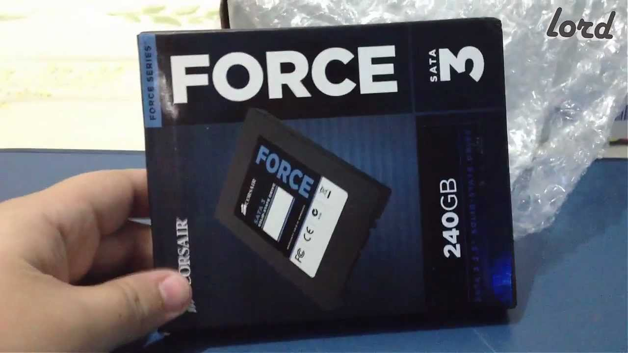Corsair Force 3 240GB SSD Driver Download