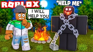 ROBLOX A NORMAL CAMPING STORY...