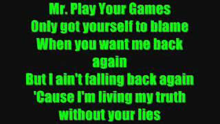 Mr.Know It All Kelly Clarkson Lyrics