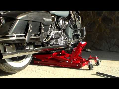 Road King and Hydraulic Motorcycle Lift