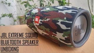 JBL Xtreme SQUAD Bluetooth Speaker Unboxing