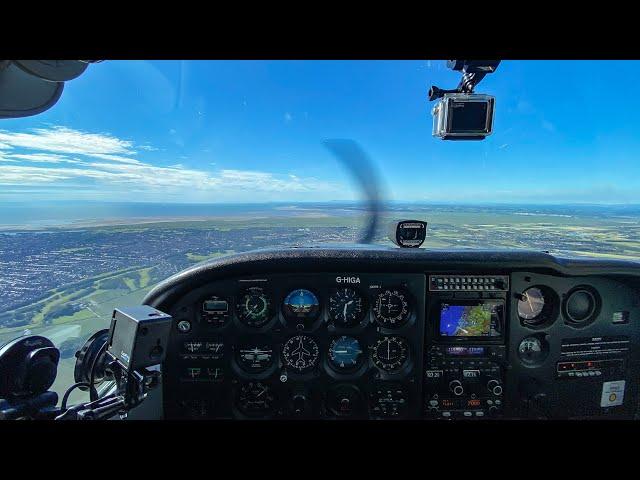 C172 - Wolverhampton To Blackpool VFR | Flight Vlog