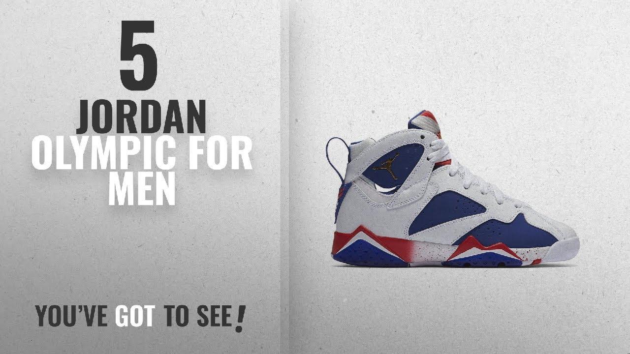 Top 10 Jordan Olympic  2018    Jordan Air 7 Retro BG Olympic Tinker  Alternate Big Kid s Shoes 0b3d0df81