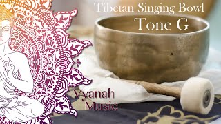 3 Hours Tibetan Singing Bowls meditation | Chakra Healing | Relaxation | Tone G.
