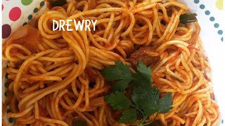 easy beef spaghetti (african way)