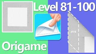 Origame Level 81-100 Walkthrough