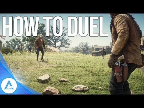 Red Dead Redemption 2: How to Duel & Win/Disarm + Duelling Bug Fix!