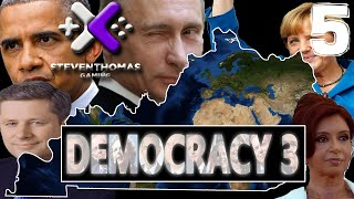 SKS Plays Democracy 3 Gameplay:  Deep Recession  [Episode 5]