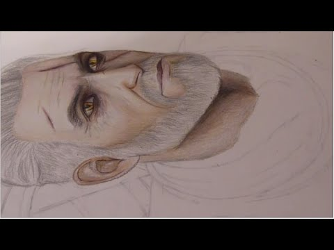 Drawing Geralt Of Rivia The Witcher 3 Youtube