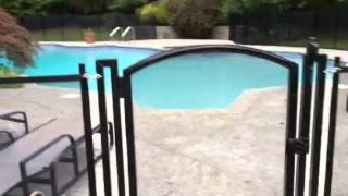 Pool Fence Arched Gate