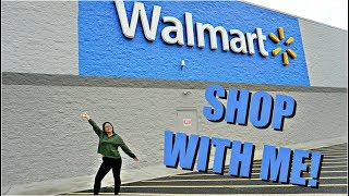 SHOP WITH ME AT WALMART: MAKEUP + AFFORDABLE CLOTHING! | JuicyJas