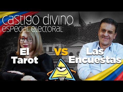 Castigo Divino Presidencial: el Tarot vs las Encuestas