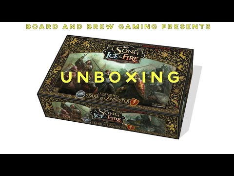 Unboxing: A Song of Fire and Ice