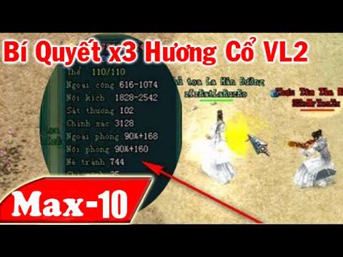 x2- Hương cổ Vl2 - x3 Hương cổ Võ Lâm 2 - Tăng lên 90% Nội Phòng 1 cách đơn Giản | NhacMax -P10