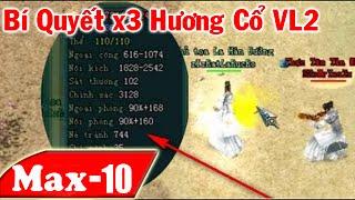 Clip x2- x3 Hương cổ Võ Lâm 2 - Tăng lên 90% Nội Phòng