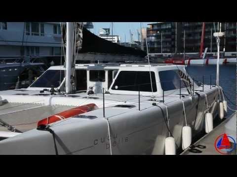 """62' Gunboat """"Cucu Belle"""" Vessel Walkthrough"""