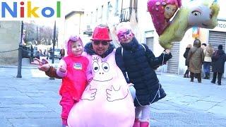 Николь на карнавале в Италии !
