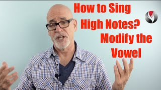 Ep 24 How to Sing High Notes-Modify the Vowel