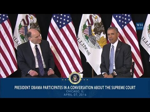 President Obama Participates in a Conversation about the Supreme Court