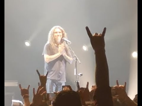 """Slayer play last ever concert and Tom Araya says """"goodbye"""" to fans in Los Angeles.."""