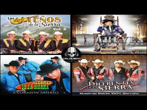 MIX de Cumbias de la Sierra -  Los Alteños VS Los Dareyes VS Los Alegres VS Otros