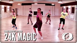 24K MAGIC - Salsation® Choreography by Paola