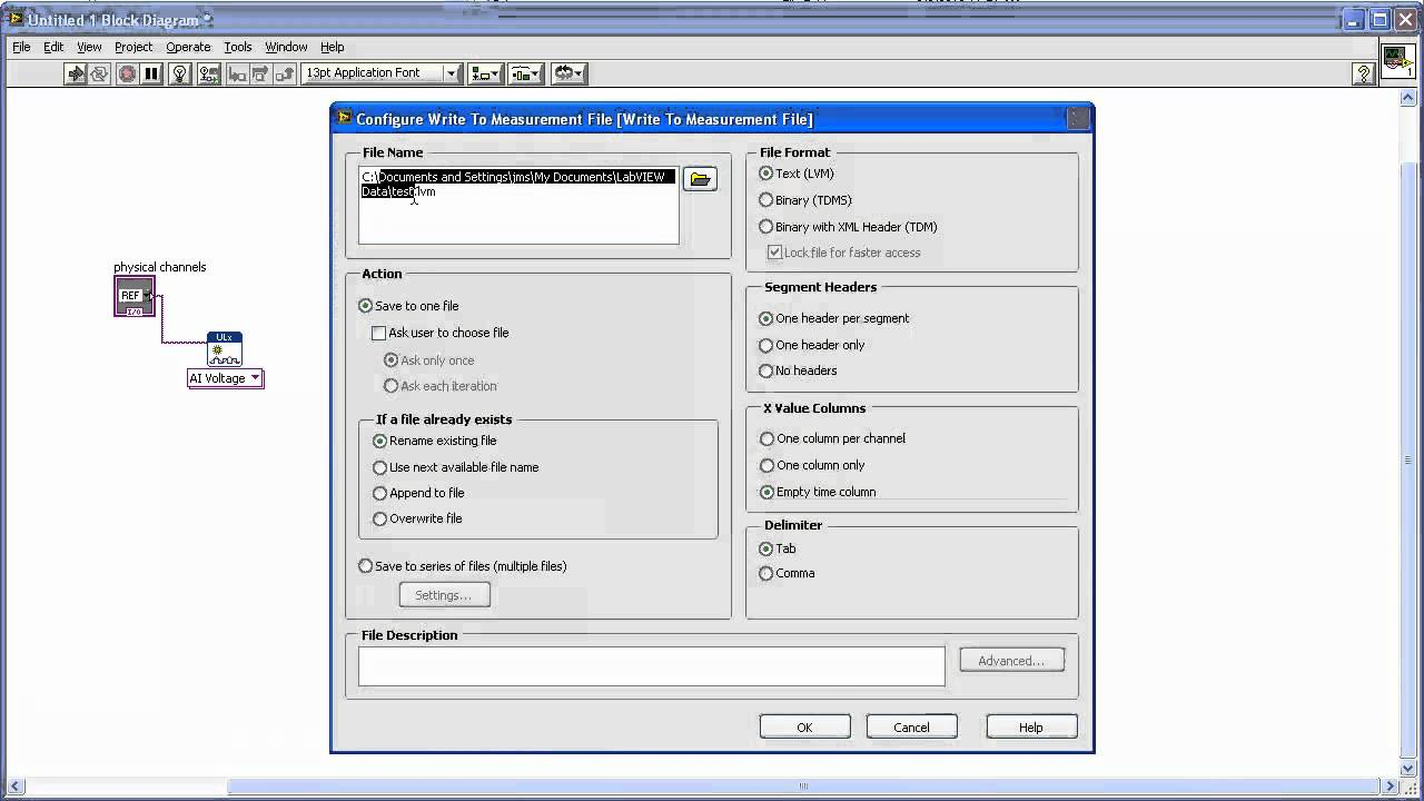 ULx for NI LabVIEW™ NI LabVIEW™ Driver for Measurement Computing