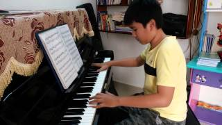 Hungarian Sonata (Richard Clayderman)_Khanh Nam