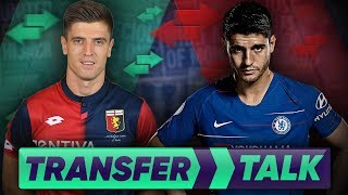 Chelsea To Replace Alvaro Morata With Europe's Most Wanted Striker?!   Transfer Talk
