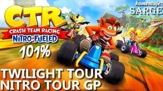 Zagrajmy w Crash Team Racing: Nitro-Fueled PL (101%) BONUS #6  - Twilight Tour | Nitro Tour GP